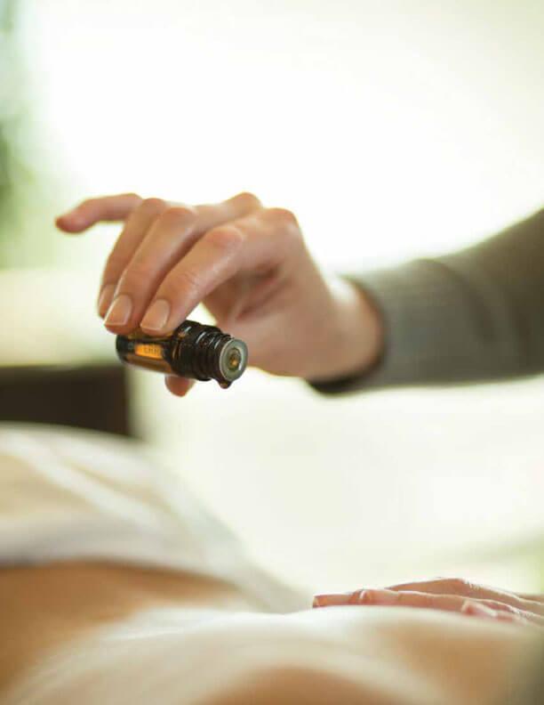 doTERRA Esenciálne oleje masáž pre zdravie