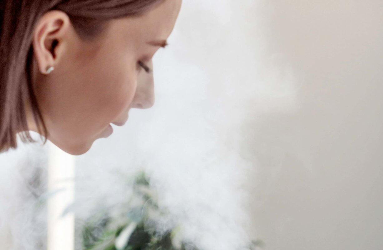 inhalácia z difuzéra jemná para čistič vzduchu a zvlhčovač