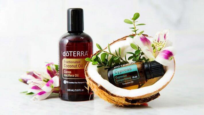 masazny olej doTERRA kokos orech Cypress 15ml dadoma.sk
